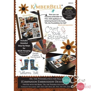 Kimberbell Oh the Possibilities for Fall Companion CD KD531