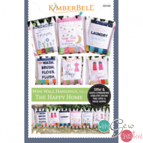 Kimberbell The Happy Home Mini Wall Hangings SEWING VERSION