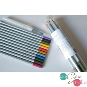 Kimberbell Watercolor Pencil Set - Jewel Tone