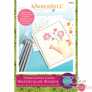 Kimberbell Watercolor Wishes Embroidery CD
