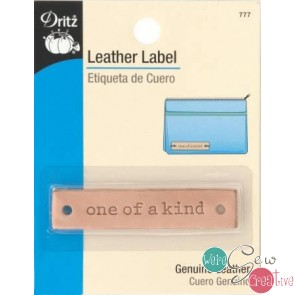 Leather Label ONE OF A KIND