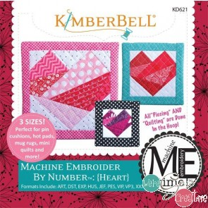 Machine Embroider by  Heart