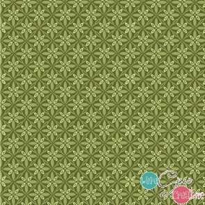 Make Yourself At Home by Kimberbell - Tufted Star Green MAS9396-G