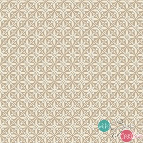 Make Yourself At Home by Kimberbell - Tufted Star Taupe MAS9396-T
