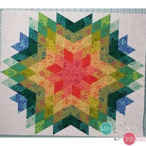 Medallion Star Kit -Using Lyla Damask Fabric