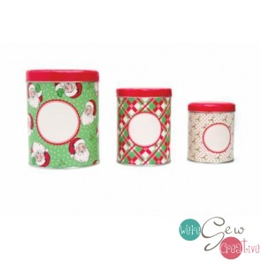 Nested Tin Set - Swell Holiday by Urban Chicks