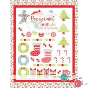 Peppermint Lane Block of the Month  by Its So Emma