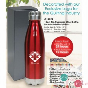 Stainless Steel Water Bottle Red
