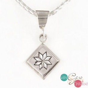 Sterling Silver Lemoyne Star Pendant Mini