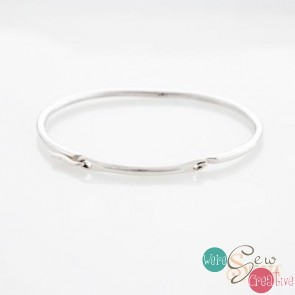 Sterling Silver Siesta Converible Bangle- Medium
