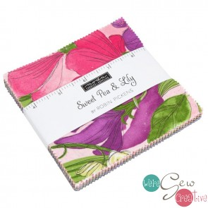 Sweet Pea Lily Charm Pack