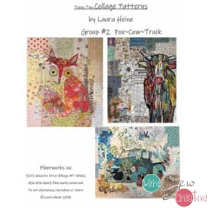Teeny Tiny Collage Pattern Group 2 by Laura Heine