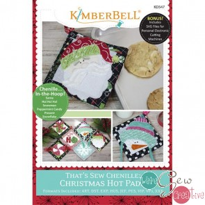 Thats So Chenille  Christmas Hot Pads  KD547