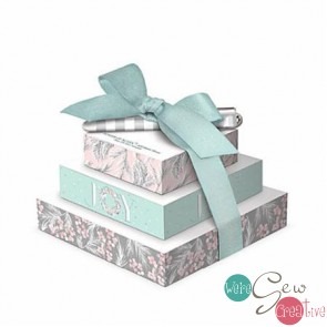 Tower of Notes Blush Mint Grey