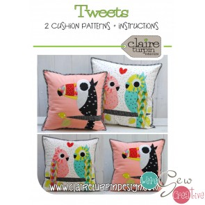 Tweets Pattern by Claire Turpin Desgins