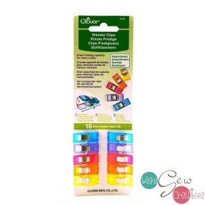 Wonder Clips 10CT Assorted
