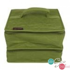 Yazzii Deluxe Double Organizer Green