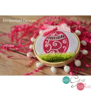 Kimberbell Embroidery Club April 2019 afternoon (Hands on)