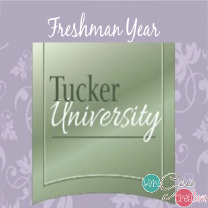 Tucker University Freshman Year, 1-3pm, 4/3/2019 Square Squared
