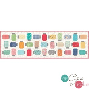 Farm Girl Vintage Yes You Can Table Runner Kit