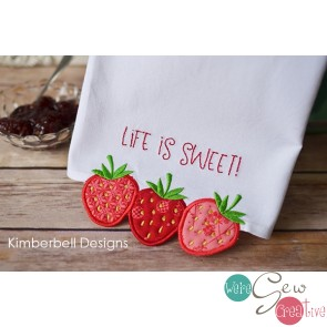 Kimberbell Embroidery Club May 2019 afternoon (hands on)