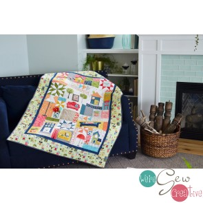 Kimberbell's Make Yourself At Home Quilt Kit *PREORDER*