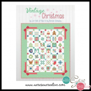 Vintage Christmas Sampler Block of the Month